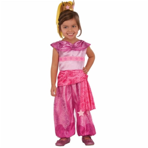 Rubies Costume 272483 Shimmer & Shine Leah Deluxe Child Costume, Medium Perspective: front