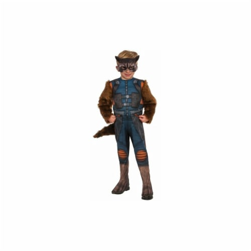 Rubies 249193 Guardians of the Galaxy Volume 2 Rocket Toddler Costume, Extra Small Perspective: front