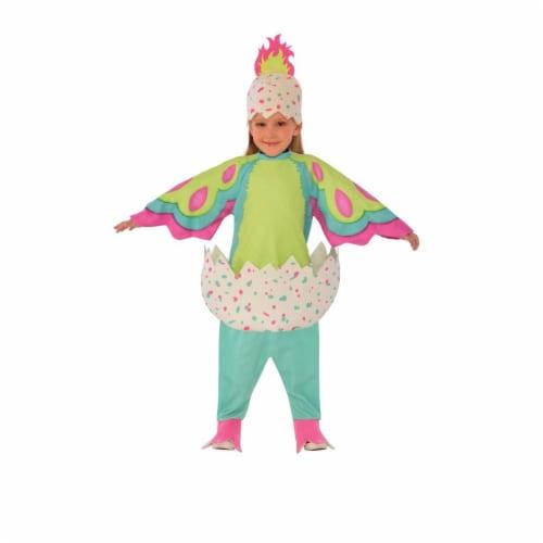 Morris RU640401XS Pengualas Hatchimal Costume, Pink & Teal - 3T-4T Perspective: front