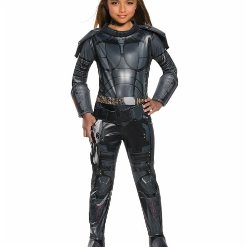 Rubies 274091 Valerian & The City of A Thousand Planets Laureline Deluxe Child Costume - Medi Perspective: front