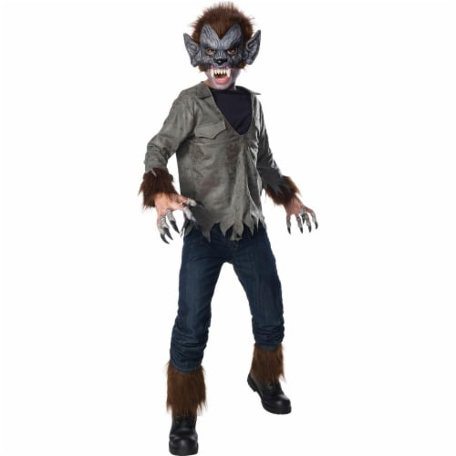 Rubies 278851 Halloween Universal Monsters Boys Wolfman Costume - Large Perspective: front