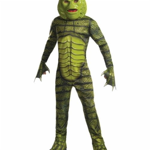 Rubies 278855 Halloween Universal Monsters Boys Creature From The Black Lagoon Costume - Medi Perspective: front