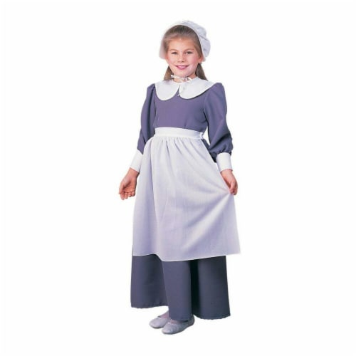 Costumes For All Occasions Ru10557Lg Pilgrim Girl Child Large Perspective: front