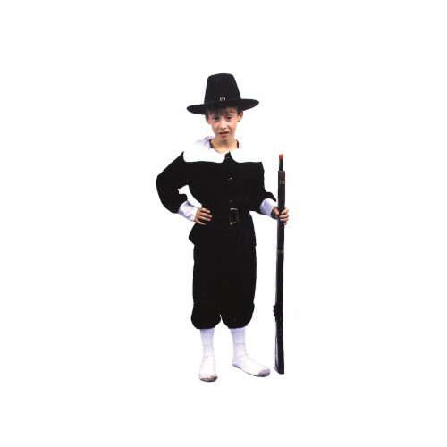 Costumes For All Occasions AF53MD Medium Pilgrim Boy Perspective: front