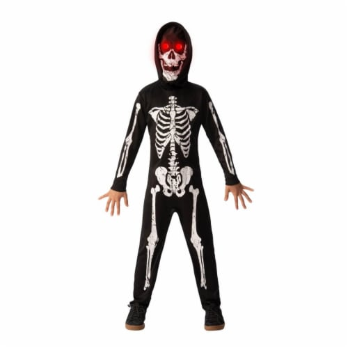 Rubies 280420 Halloween Fade In Fade Out Skeleton Costume - Small Perspective: front