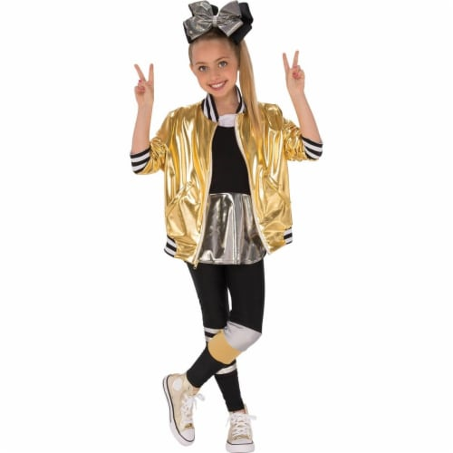 Rubies 278860 Halloween Jojo Siwa Dancer Outfit Girls Costume - Large Perspective: front