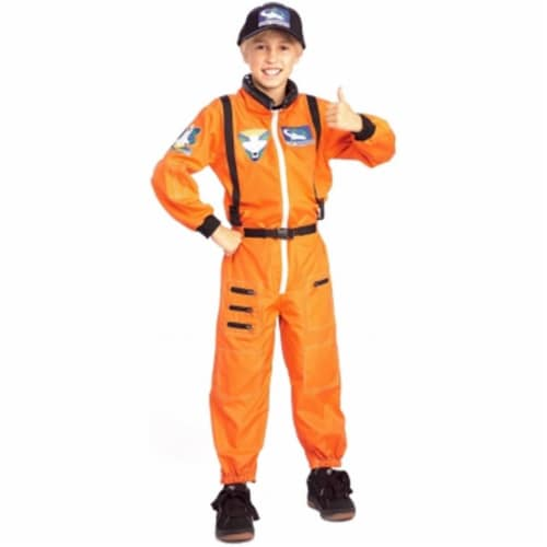 Costumes For All Occasions RU882700MD Astronaut Child Medium Perspective: front