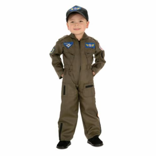 Costumes For All Occasions RU882701MD Air Force Fighter Pilot Chd Md Perspective: front