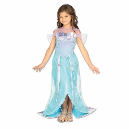 BuySeasons 286784 Deluxe Kids Mermaid Costume, Medium Perspective: front