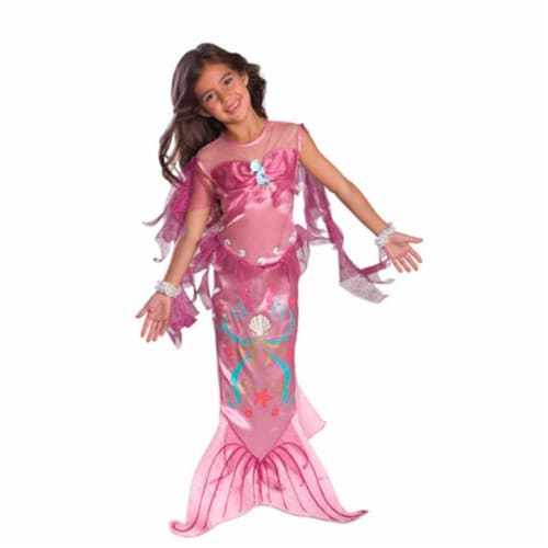 Rubies 274178 Pink Mermaid Toddler Costume Perspective: front