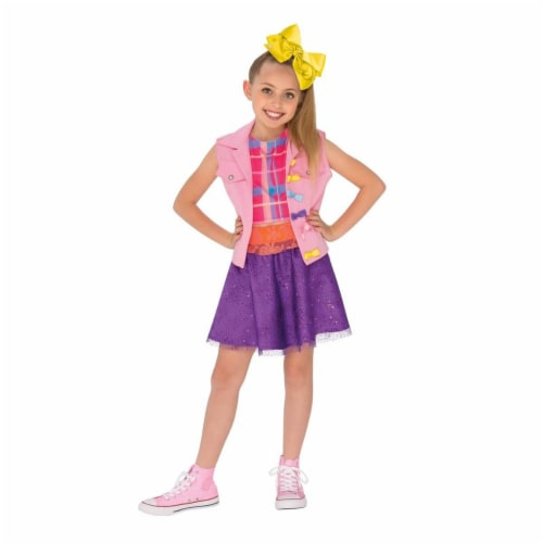 Rubies 270278 JoJo Siwa Music Video Outfit for Girls, Multicolor - Medium Perspective: front