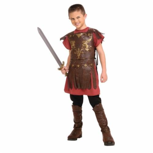 BuySeasons 286787 Gladiator Kids Costume, Large Perspective: front