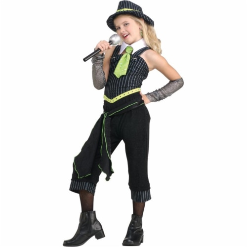Costumes For All Occasions Ru882801Lg Gangster Moll Child Large Perspective: front