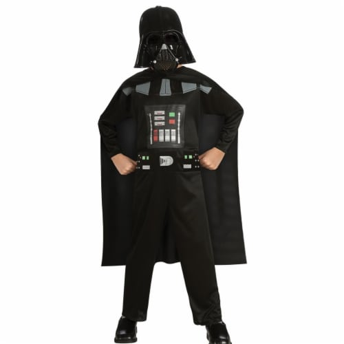 Morris Costumes RU882848MD Star Wars Darth Vader Child Costume, Medium Perspective: front