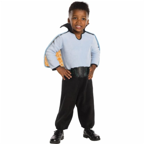 Rubies 278639 Halloween Star Wars Classic Toddler Lando Calrissian Costume - 3T-4T Perspective: front