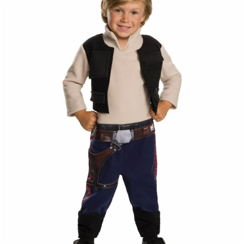 Rubies 278640 Halloween Star Wars Classic Toddler Han Solo Costume - 2T Perspective: front