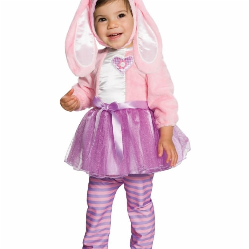 Rubies 278646 Halloween Baby Pink Bunny Costume Perspective: front