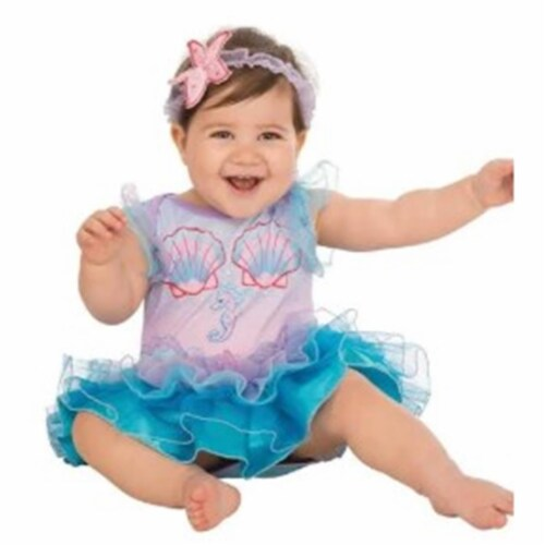 Rubies Costume 280010 Baby Pretty Mermaid Costume, 6-12 Months Perspective: front