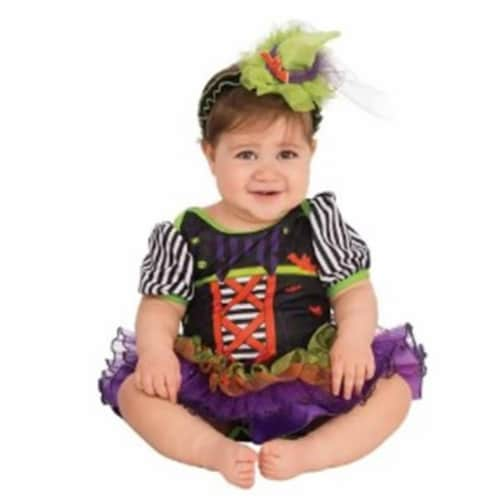 Rubies Costume 280014 Baby Witchie Witchie Woo Costume, 6-12 Months Perspective: front