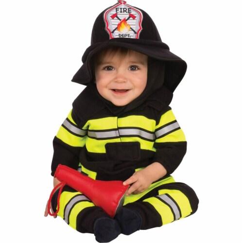 Rubies 278656 Halloween Baby & Toddler Fireman Costume Perspective: front