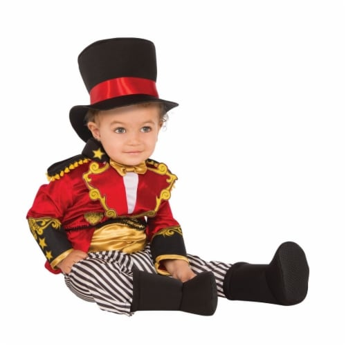 Rubies Costume 280021 Baby Ringmaster Costume Perspective: front