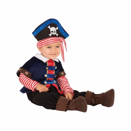 Rubies 278660 Halloween Baby Pirate Boy Costume Perspective: front