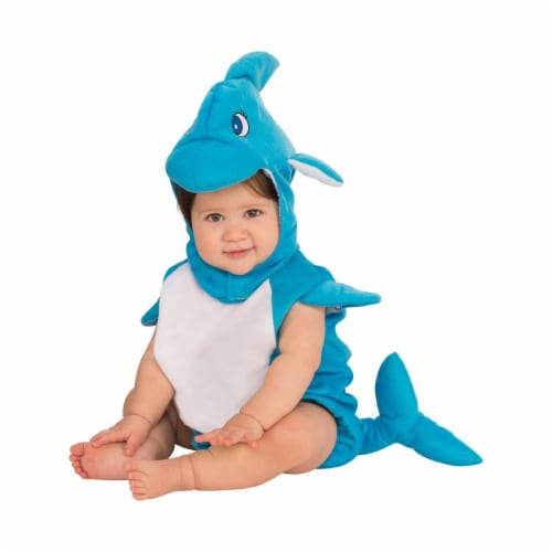 Rubies 278669 Halloween Baby Dolphin Costume - Toddler Perspective: front