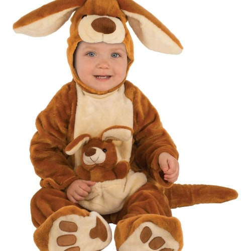 Rubies 278675 Halloween Baby Kangaroo Costume - Toddler Perspective: front