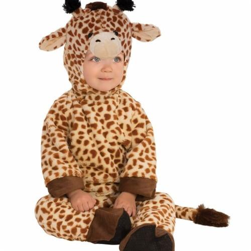 Rubies 278677 Halloween Baby Giraffe Costume - Toddler Perspective: front