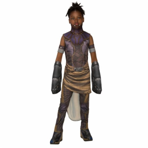 Rubies 276692 Halloween Marvel Black Panther Movie Deluxe Shuri Girls Costume - Small Perspective: front