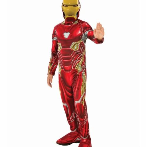 Rubies 278871 Halloween Marvel Avengers Infinity War Iron Man Boys Costume - Medium Perspective: front