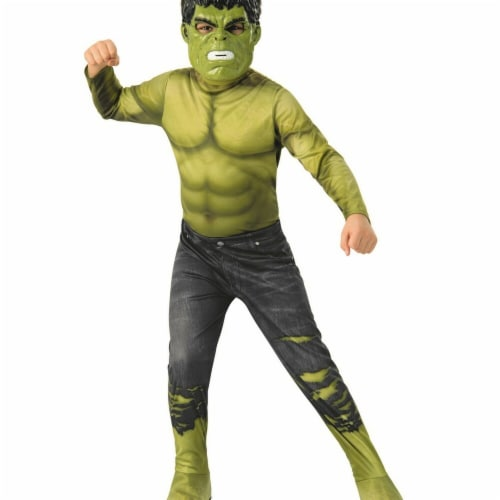 Rubies 278879 Halloween Marvel Avengers Infinity War Hulk Boys Costume - Large Perspective: front