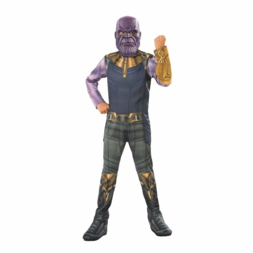 Rubies 278882 Halloween Marvel Avengers Infinity War Thanos Boys Costume - Large Perspective: front