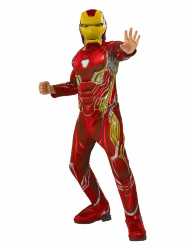 Rubie's Boys' Small Avengers Iron Man Costume Perspective: front