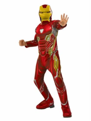 Seasons Boys' Large Avengers Iron Man Costume Perspective: front