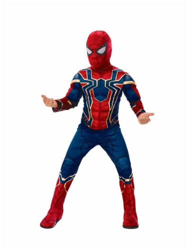 Rubies Children's Medium Avengers Iron Spider Costume Perspective: front