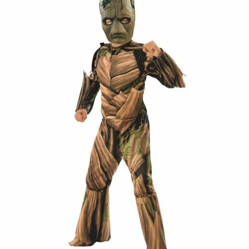 Rubies 278892 Halloween Marvel Avengers Infinity War Teen Groot Deluxe Boys Costume - Medium Perspective: front