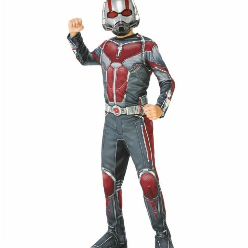 Rubies 278902 Halloween Marvel Ant-Man & The Wasp Boys Ant-Man Costume - Small Perspective: front