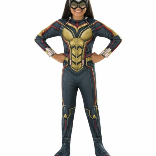 Rubies 278905 Halloween Marvel Ant-Man & The Wasp Girls Wasp Costume - Small Perspective: front
