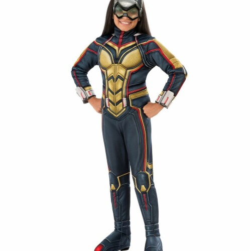 Rubies 278911 Halloween Marvel Ant-Man & The Wasp Deluxe Wasp Girls Costume - Small Perspective: front