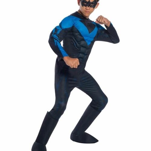 Rubies 278925 Halloween Dc Comics Boys Deluxe Nightwing Costume - Medium Perspective: front