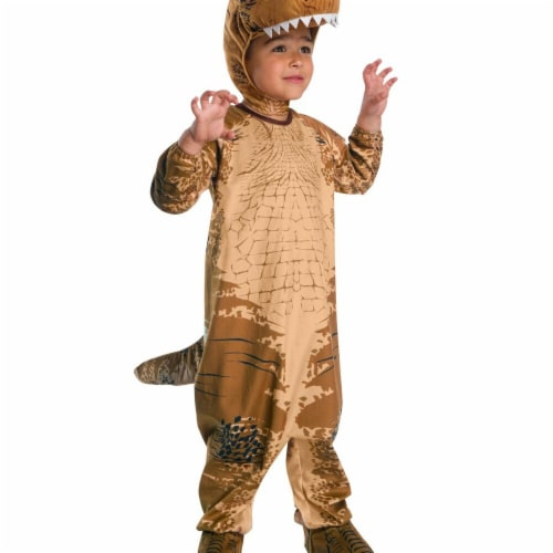 Rubies 278679 Halloween Jurassic World Fallen Kingdom T-Rex Toddler Costume - 2T Perspective: front