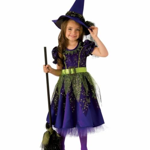 Rubies 278945 Halloween Girls Twilight Witch Costume - Medium Perspective: front