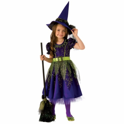 Rubies 278944 Halloween Girls Twilight Witch Costume - Large Perspective: front