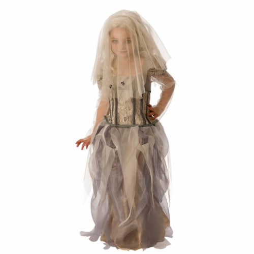 Rubies 278949 Halloween Girls Ghost Bride Costume - Small Perspective: front