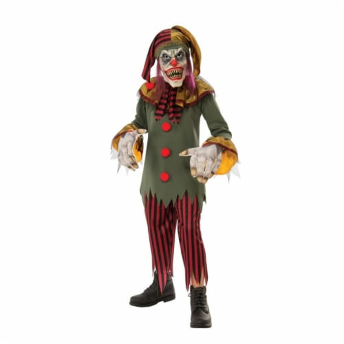 Rubies Costume 280196 Boys Crazy Clown Costume, Medium Perspective: front
