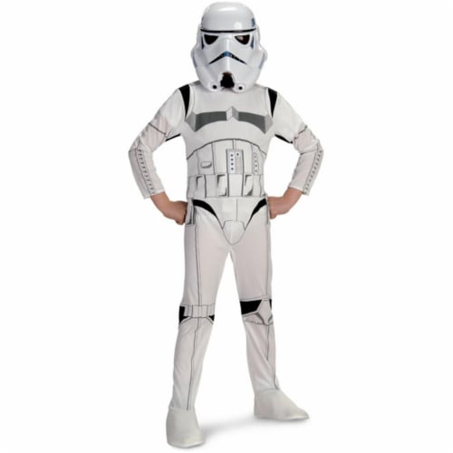 Rubies Costumes 156275 Star Wars- Stormtrooper Child Costume Size: Small (4-6) Perspective: front