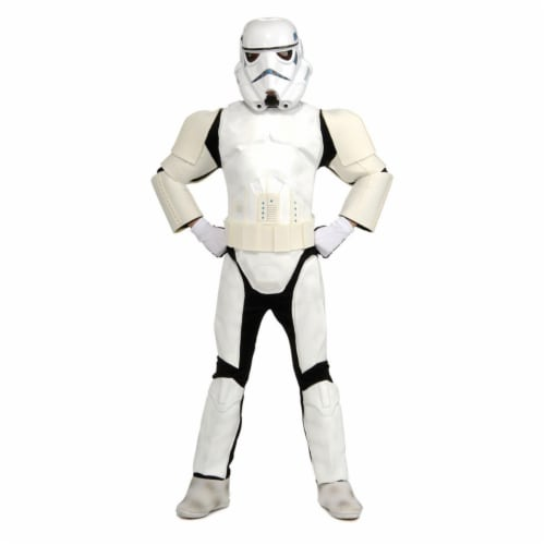 Rubies Costume Co 32184 Stars Wars Storm Trooper Special Edition Child Costume Size Medium- B Perspective: front
