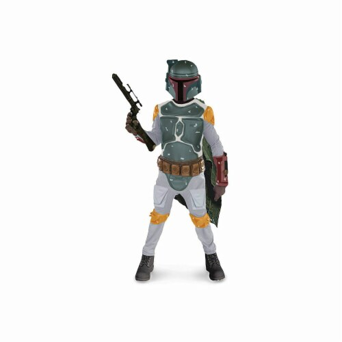 Rubie's Costumes 156279 Star Wars- Boba Fett Child Costume Size: Medium (8-10) Perspective: front