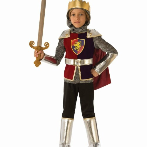 Rubies 278986 Halloween Boys Knight Costume - Small Perspective: front
